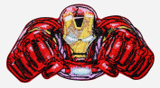 Flying Iron Man Armour Marvel Avengers Comics Superhero Iron On Applique Patch