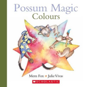 Possum Magic Colours [Board book]