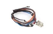 Letshopping® Japanese Animation Vintage Bracelets Cosplay Wristband Attack on Titan Naruto
