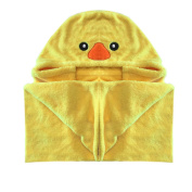 Hooded Duck Bath Towel for Toddlers and Babies for Pool or Beach --Extremely Soft and Comfortable