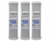 (Package Of 3) KX Matrikx +CTO/2 32-250-125-975 Carbon Block Water Filter
