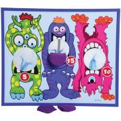 Monster Theme Bean Bag Toss Cornhole Game Set