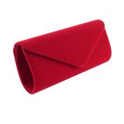 Women's Evening Clutch Bag, Clorislove Retro Velvet Envelope Party Prom Handbag