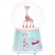 Sophie la girafe Paris Musical Snow Globe