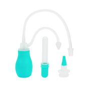 Nasal Aspirator for Baby - IntiPal Baby Nose Aspirator Medicine Dropper - Snot Sucker for Removing Mucus Gently