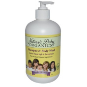 Natures Baby Organics Shampoo and Body Wash Lavender Chamomile - 470ml - Pack of 1