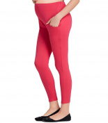 Liang Rou Maternity Belly Support Ribbed Thin Stretch Full Length Leggings