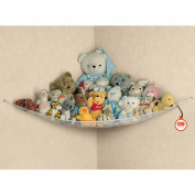 Baby Toy Hammock Tidy Storage Bag Mesh Net Nursery Bathroom Organiser