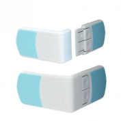 AsentechUK® 4Pcs Door Fridge Drawer Wardrobe Safety Lock Latch For Baby Children Kid Toddler