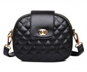 TianHengYi Small Women's Sythetic Leather Diamond Quilted Satchel Handbag Cross Body Purse Shoulder Bag