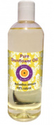Pure Sunflower oil 200ml (Helianthus annuus) 100% Natural Cold Pressed