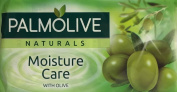THREE PACKS of Palmolive Naturals Soap Moisture Care With Olive 3 x 90g Bars