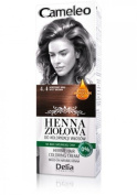 Cameleo Herbal Henna Colouring Cream SPICY BROWN 75g Natural Henna extract with Moroccan Oil