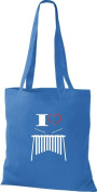 T-Shirt Stown Cloth Bag Music I Love Xylophone
