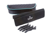 Cloud Nine Luxury Carry Case, Heat Proof Mat & Mateque Crocodile Clips