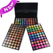CINEEN 180 Colours Professional Eyeshadow Palette Eye Shadow Makeup Kit Set