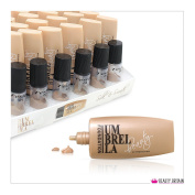24 x FOUNDATION CREAMS SET WITH TESTERS 6 SHADES UV PROTECTION WHOLESALE UK