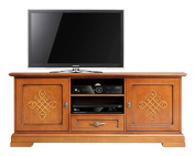 "Italian design tv cabinet with friezes ""You"""