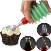 3 Pcs/Set Cakes Decorating Design Dessert Decorator Cupcakes Cooking Baking Pastry Kitchen Gadgets Tools Dining Bar Accessories