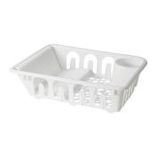 FLUNDRA - Dish drainer, white
