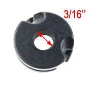 4PCS Black Archery Aluminium Peep Sight for Hunting Compound Bow