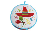 Tortilla Warmer 27cm -Insulated Fabric Pouch - Keeps warm for 1 hour