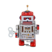 Wind Up Robot MS406 Metal Tin Toys adult collectible