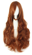 """MapofBeauty 32"""" 80cm Long Hair Spiral Curly Cosplay Costume Wig"""