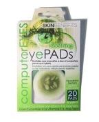 Skin Benefits - Computer Eyes - Cool Cucumber Eye Pads