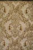 Damask Upholstery and Drapery , Jacquard Fabric Sold By the Yard