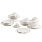 Maxwell & Williams White Rose, Coffee Cups Set, for Coffee/ the Kitchen, 30P., White, JX76630