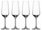 "Vivo by Villeroy & Boch Group ""Champagne Flutes"" Voice Basic Glass, Set of 4"