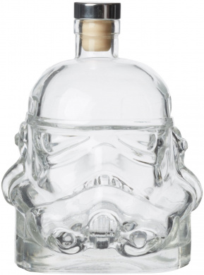 Thumbs Up Original Stormtrooper Decanter, Glass, Clear