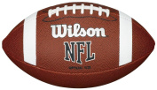 Wilson Nfl Approved Official Size Bin Xb Entry Level Pvc American Football Brown