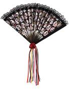 Amscan International Adults Day Of The Dead Fan Fashion