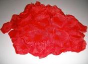 100 Red Large Premium Silk Rose Petals by Weddingandpartystore