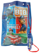 Paw Patrol Childrens Drawstring Handle Waterproof Chase Marshall And Rocky Character Swim Bag