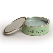 Pintail Candles Large 3 Wick Scented Candle Tin - Driftwood