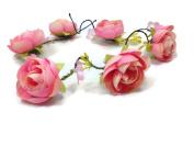 Nature Vines Garland Flower Crown Headband :S10