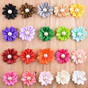 20pcs Seeko New Style Ribbon Pearl Flower