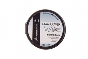 Awesome Grey Cover Wax (Styling Wax Manicure for Men), 1 - OFF Black