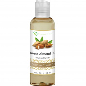 Sweet Almond Oil, Natural Carrier Oil 120ml, Cleansing Properties, Evens Skin Tone, Treats Irritated Skin, Nourishes, Moisturises & Prevents Ageing- By Premium Nature