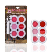 Piggy Paint Lip Gloss Compact with 6 Colours and Applicator