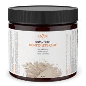 Clay Mask 470ml, Sodium Bentonite Clay Powder, Natural Organic Facial Mask for Oily Skin