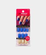 """NEW 2016** KISS imPRESS """"FLASH MOB"""" Press-On Gel Manicure Nails-BIP080-62306"""