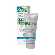 Andalou Naturals Clarifying Oil Control Beauty Balm Un-Tinted with SPF30 - 60ml