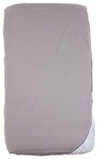 Luv Bug Company Organic Jersey Knit Waterproof Crib Sheet Grey
