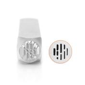 ImpressArt- Vertical Line Texture Design Stamp, 6mm