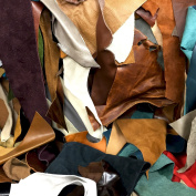 Springfield Leather Company's 4.5kg Assorted Upholstery Scrap