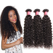 Jolia Hair 6A Grade Virgin Curly Brazilian Hair Bundles 100% Human Hair Weave Extensions Can be Dyed and Bleached